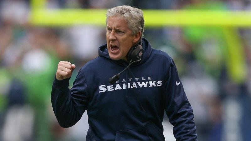 Illustration for article titled Pete Carroll's Friends, Family Admit They'd Love To See Him Get Blown Out In A Super Bowl