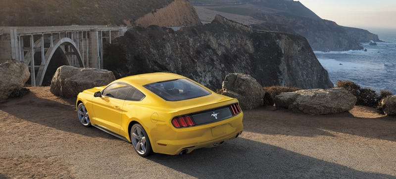 Between The Grumbly V8 In Mustang Gt And Small But Potent Four Cylinder Ecoboost It S Sometimes Hard To Remember Odd V6 Middle