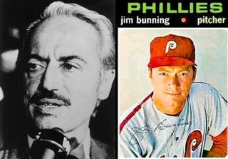 Illustration for article titled Marvin Miller Remembers The Pre-Crazy Jim Bunning, Labor Revolutionary