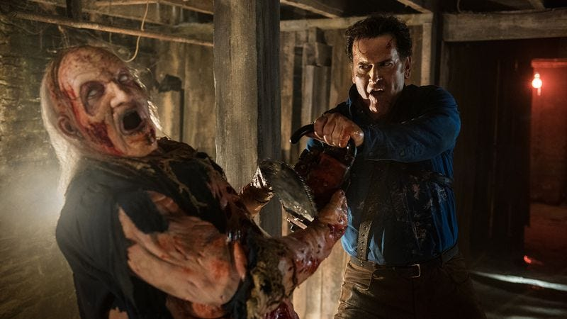 ash vs evil dead rots away in the fruit cellar as it closes out an epic season