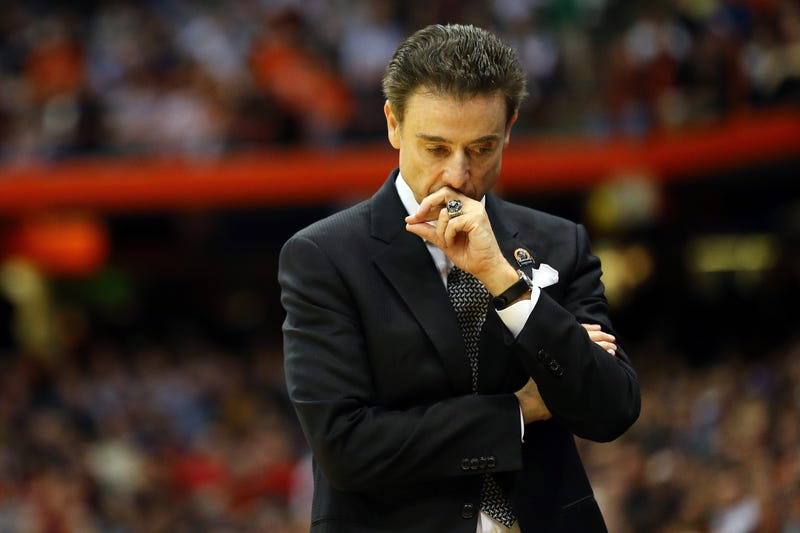 Head coach Rick Pitino of the Louisville Cardinals in 2015Maddie Meyer/Getty Images