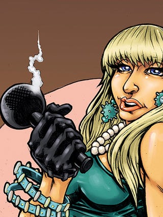 Illustration for article titled Explaining The Gruesome Gaga Comics
