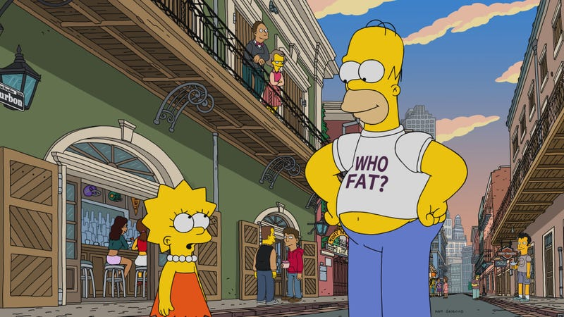 Illustration for article titled Lisa has a musical crisis, but The Simpsons is content to breeze through New Orleans