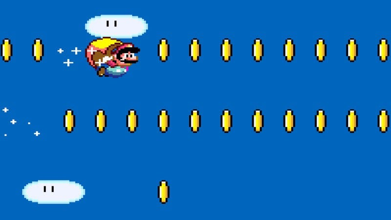 Screenshot: Super Mario World