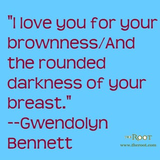 Illustration for article titled Quote of the Day: Gwendolyn Bennett on Black Beauty
