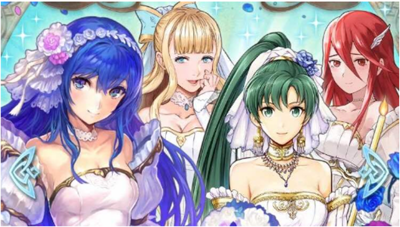 Illustration for article titled The Weirdness Of Fire Emblem Heroes' Bride Class