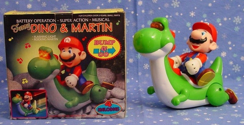"""Illustration for article titled Forget Mario and Yoshi, Here's """"Dino And Martin"""""""