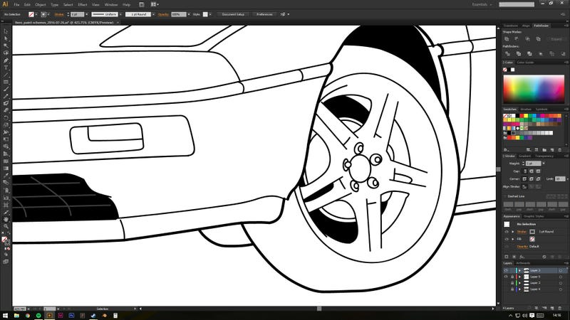 Illustration for article titled Wheels!