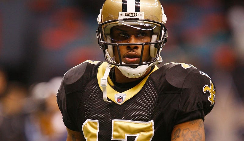 Former Saints WR Robert Meachem jailed over unpaid child support, alimony