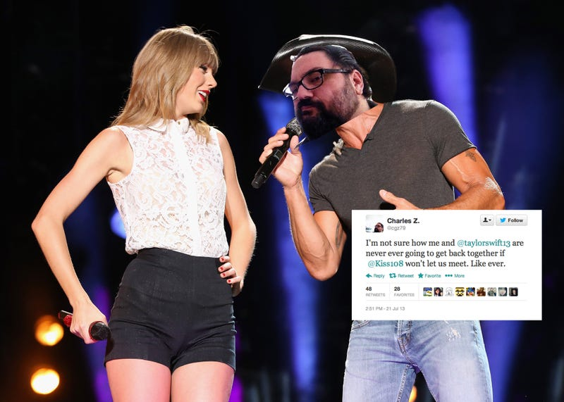 Illustration for article titled The 'Creepy' Dude Who Trolled Taylor Swift Says He Wasn't Trolling