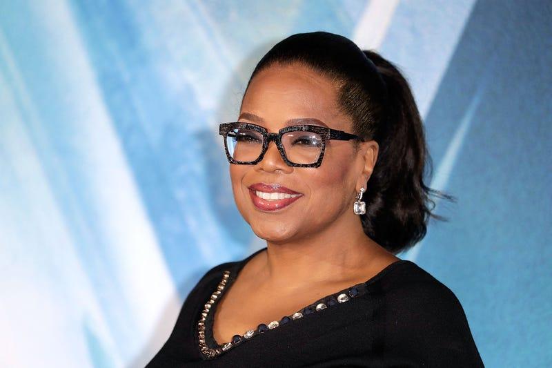 Oprah Winfrey in London in March 2018