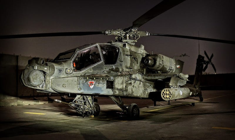 Illustration for article titled One Of Our Readers Is Flying Apaches In Afghanistan And Really Knows How To Use A Camera