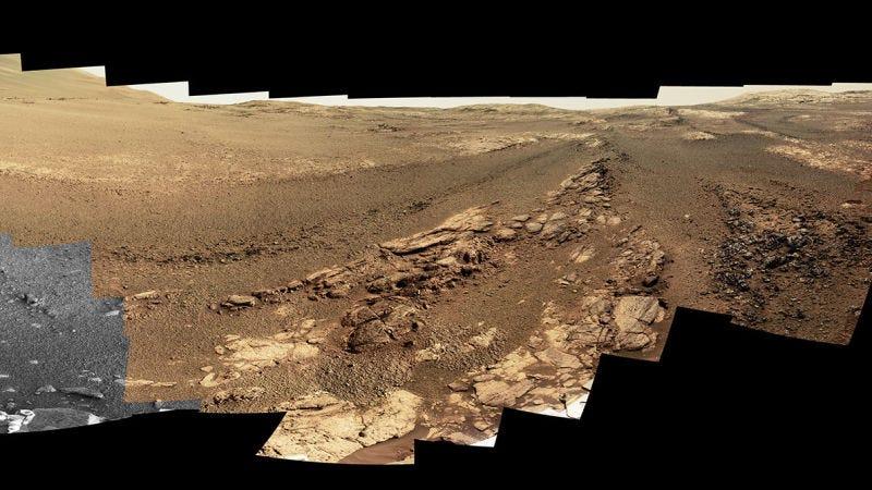Panorámica marcianaFoto: NASA/JPL-Caltech/Cornell/ASU
