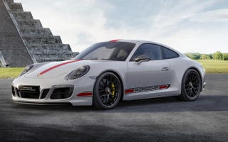 THIS is a special edition 911,celebrating Porsche's 15 years in Mexico.
