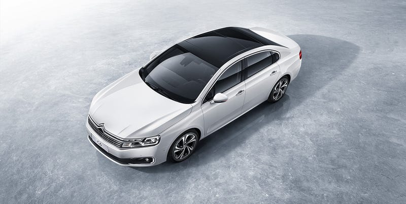 Illustration for article titled I'm Going To Pretend This Boring New Citroën C6 For China Doesn't Exist