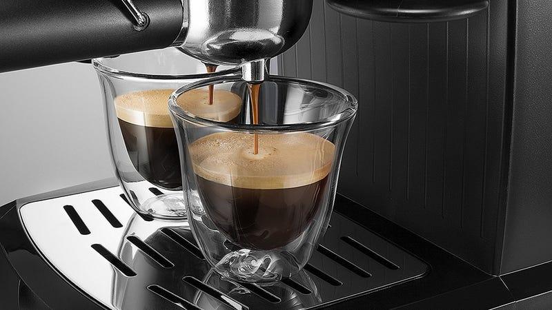 DeLonghi EC155M Manual Espresso Machine, $60