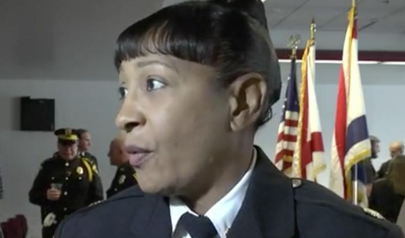 Mobile, Ala., Police Maj. Bareneise Dixon (screenshot)