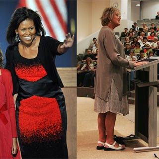 Illustration for article titled Michelle Obama's Election Night Dress: Germaine Greer Just Doesn't Get It
