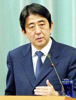 Illustration for article titled Giant Asshole of the Day: Shinzo Abe (And An Honorable Mention To The Idiots Of The Internets)