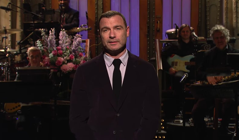 Liev Schreiber lends some sneaky comic gravitas to Saturday