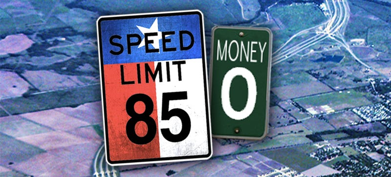 Illustration for article titled America's Highest Speed Limit Road Operator Is Bankrupt