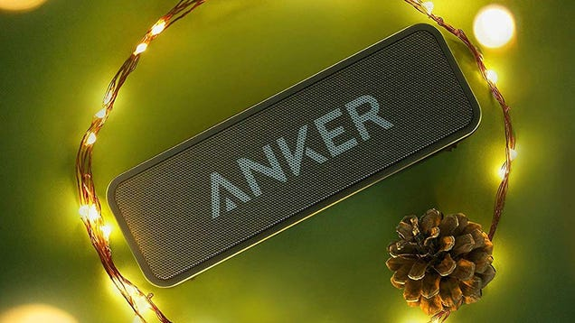 Blast Christmas Music All Year Long With This $21 Anker SoundCore Bluetooth Speaker