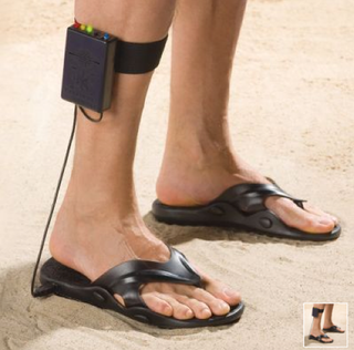 Illustration for article titled Metal Detector Sandals Are the Perfect Fit For the Super Lazy