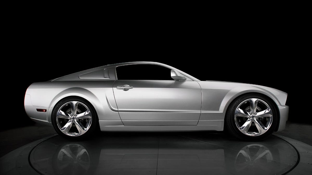 Lee iacocca finds better car unveils custom 45th anniversary mustang