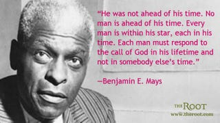 Benjamin E. MaysFair Use