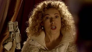 Illustration for article titled How I learned to love the Doctor's dashing lady-friend, River Song