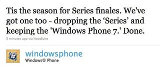 Illustration for article titled Brevity Wins: Windows Phone 7 Series Is Now Just Windows Phone 7