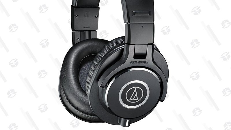 Audio Technica ATH-M40X Headphones | $79 | Amazon