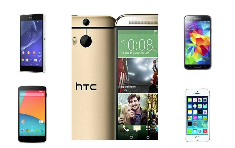 Illustration for article titled El HTC One M8, comparado frente a sus principales rivales
