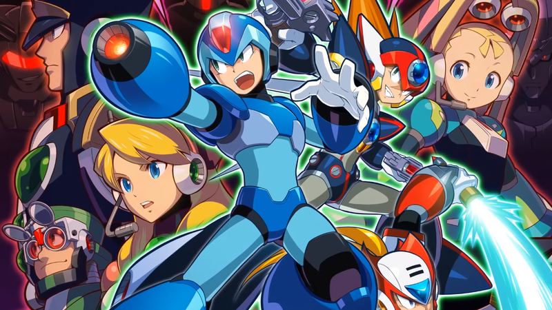 Illustration for article titled Capcom Ditches Guns N' Roses Boss Names For Mega Man X Collection