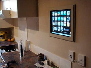 Build a Wall-Mounted Kitchen Computer