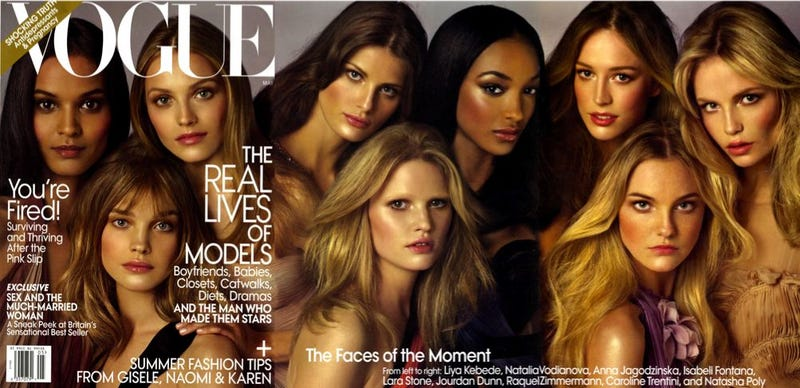 Illustration for article titled Vogue's Multi-Model May Cover Leaks