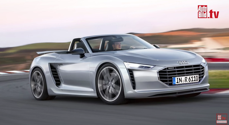 Illustration for article titled Is Audi Really Working On An R6 Boxster-Derived Sports Car?
