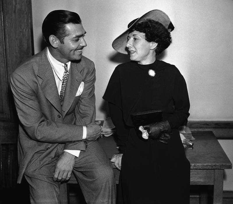 """Illustration for article titled Two Strange Tales, One Movie Star: Clark Gable's """"Daughter"""" And Daughter"""