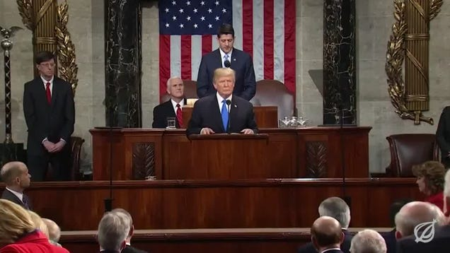 Onion Fact Check: Trump's State Of The Union