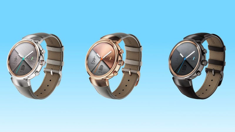 ZenWatch 3 official with a lovely circular design