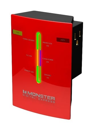 Illustration for article titled Monster PowerNet 1G Is World's Fastest Powerline Adapter