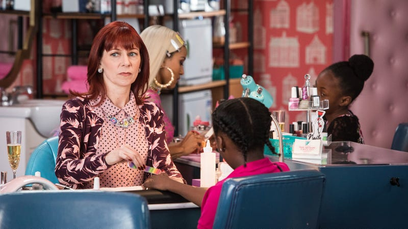 Carrie Preston stars in Claws