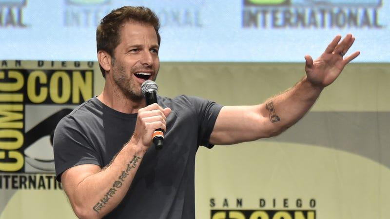 Zack Snyder at San Diego Comic-Con.