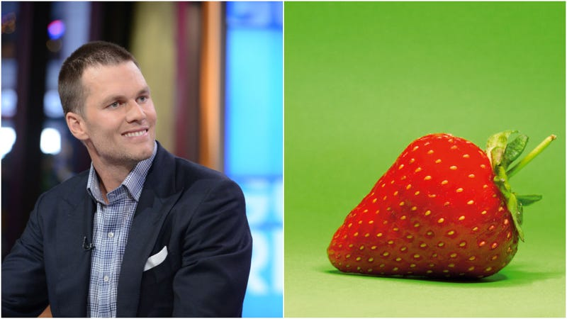 Illustration for article titled Tom Brady hates strawberries because he used to smell them a lot
