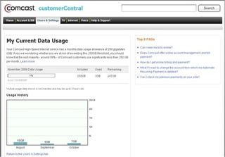 Illustration for article titled Comcast Data Usage Meter Begins Rolling Out To Customers