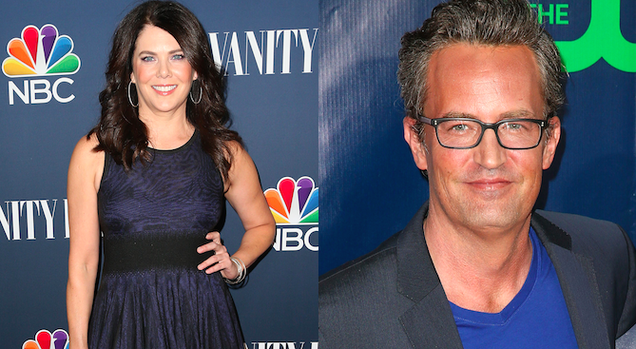 Lorelai and Chandler to Kiss on CBS's Odd Couple Reboot | 636 x 349 png 410kB