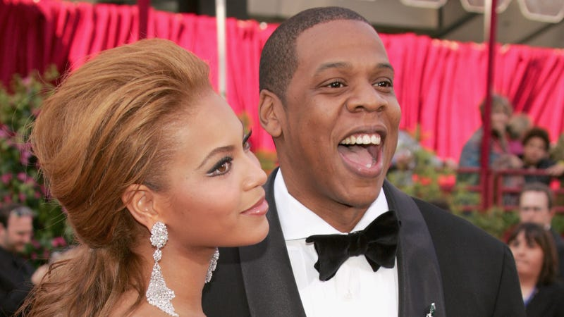 Beyoncé and Jay-Z in Hollywood, Calif., in 2005