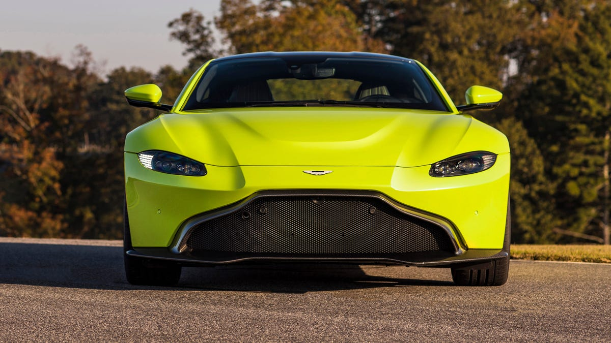 Here S Why The New Aston Martin Vantage Abandoned A Traditional Grille