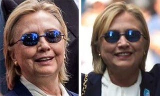 Illustration for article titled Wingnuts are claiming Hillary is using a body double