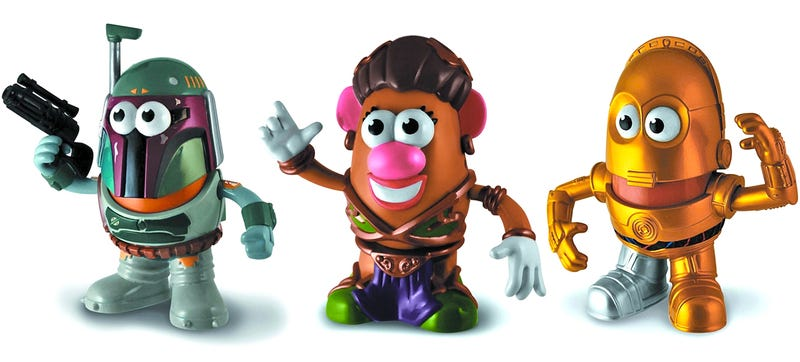 Illustration for article titled Seeing Princess Leia As a Mr. Potato Head Is a Little Unsettling
